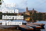 Áreas de servicio de autocaravanas en Salamanca