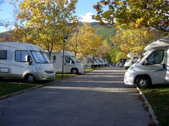 Áreas de servicio de autocaravanas y parkings para pernocta en Castilla y León
