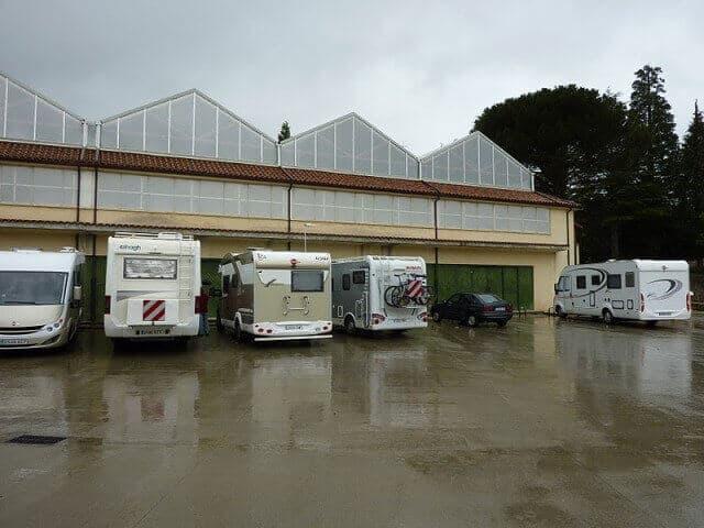 En Plasencia construyen parking para autocaravanas