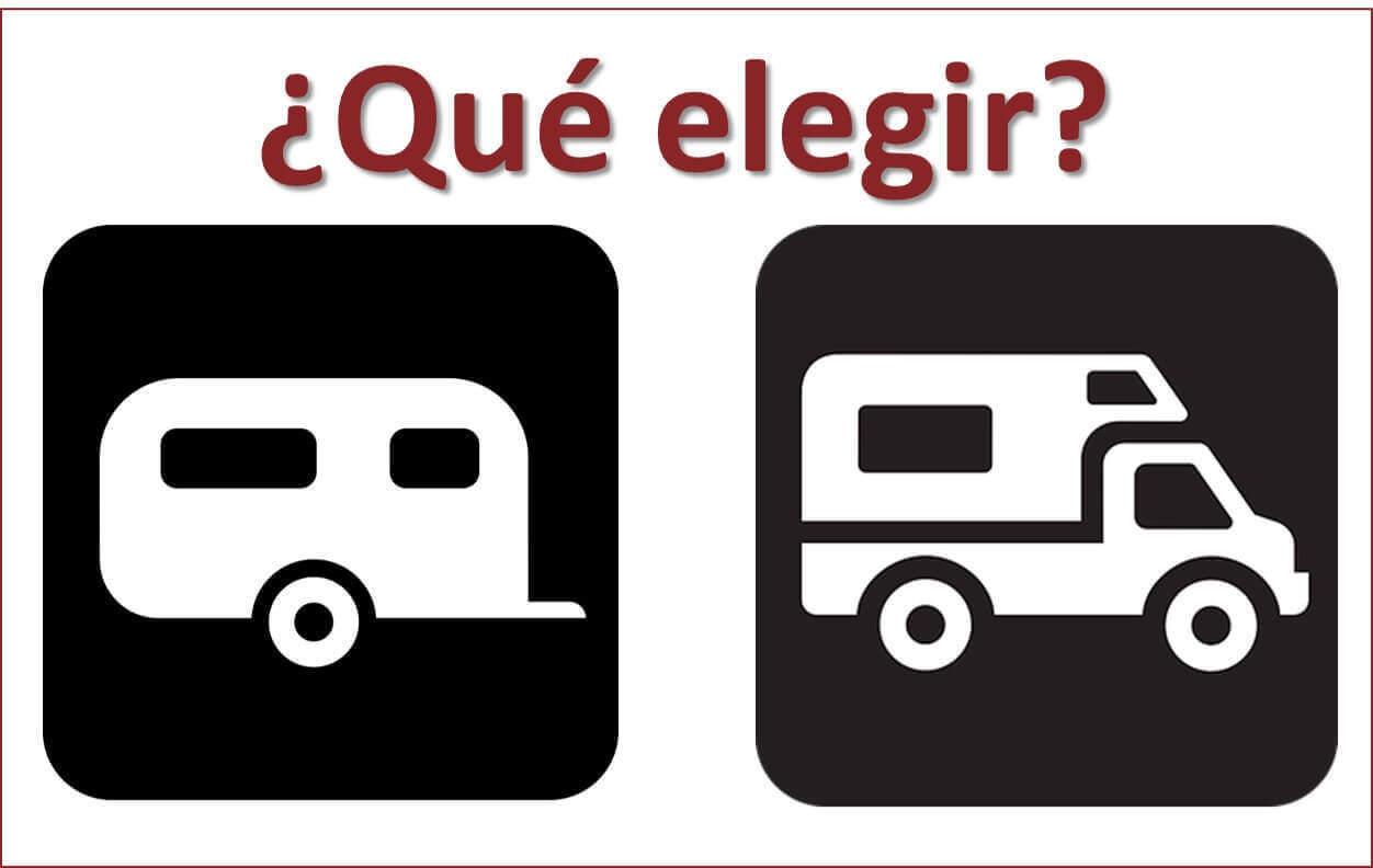 que elegir caravana o autocaravana