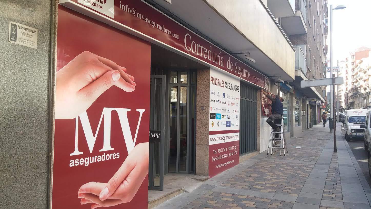 mv aseguradores tienda