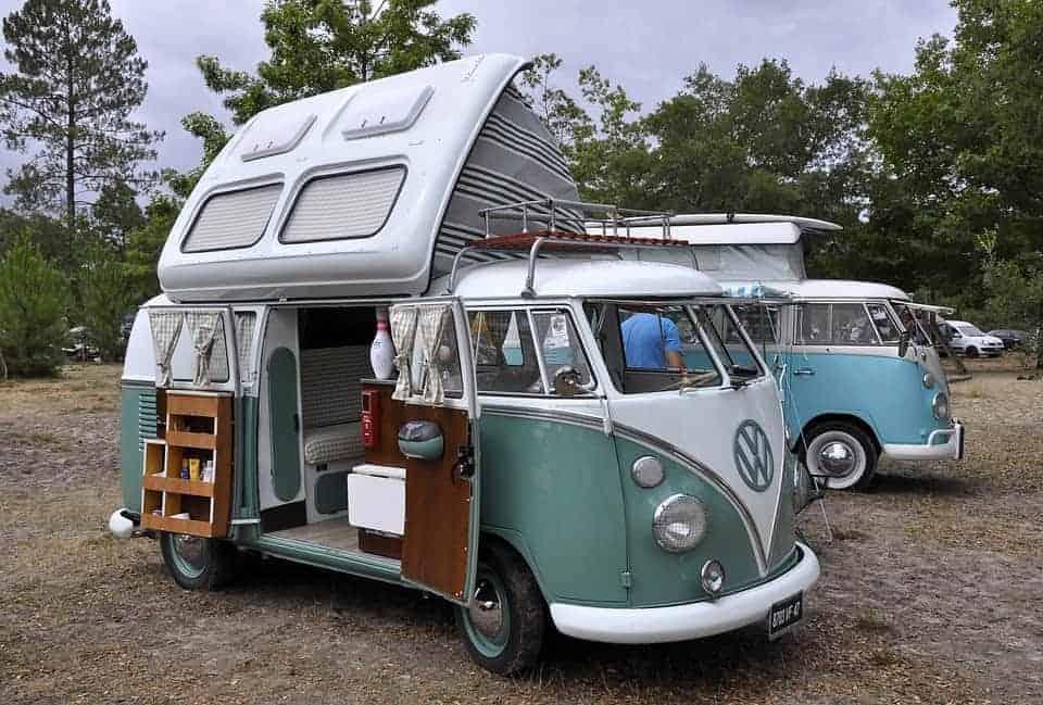 furgonetas preparadas como campers