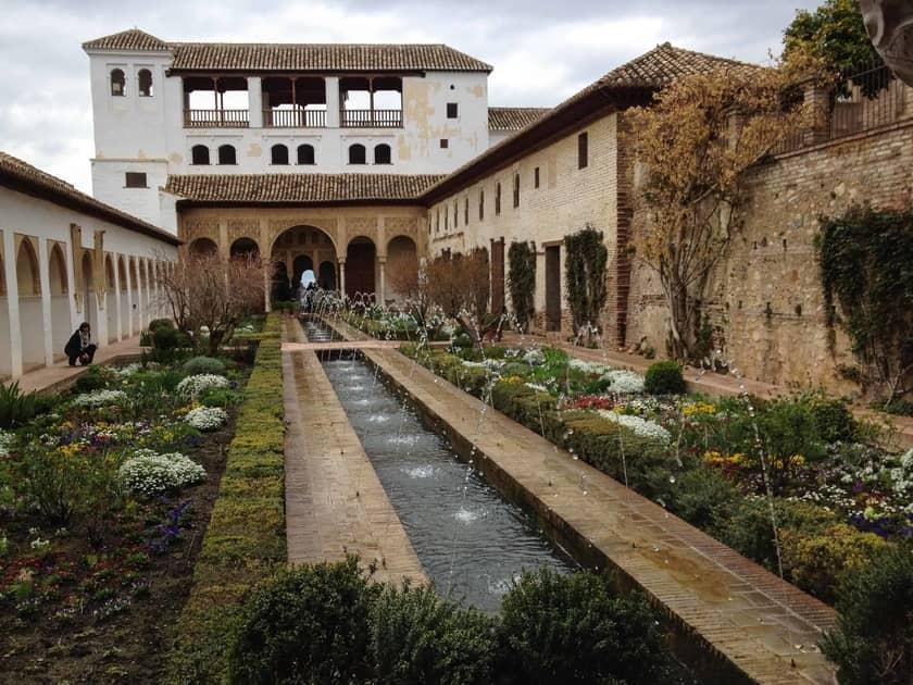 viajar en autocaravana a Granada