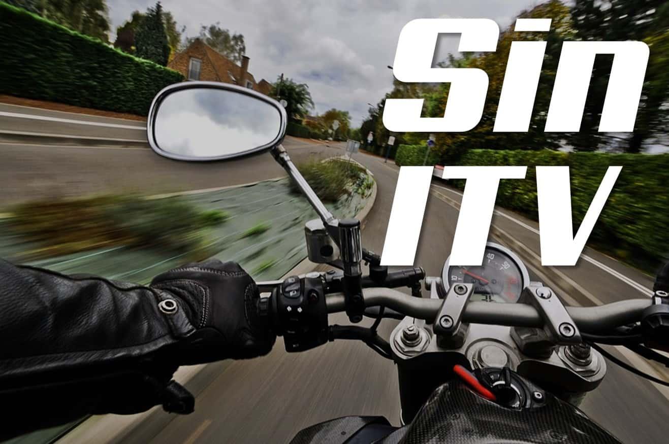 Contratar un seguro de moto sin haber pasado la ITV