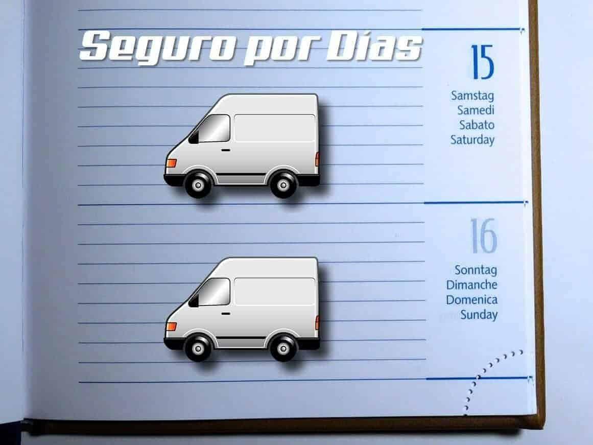 seguros de furgonetas por días