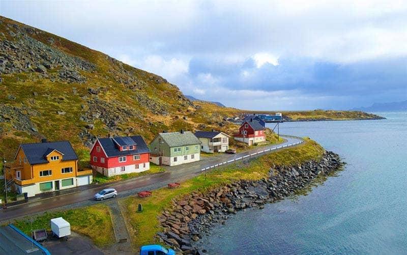 La localidad de Havøysund
