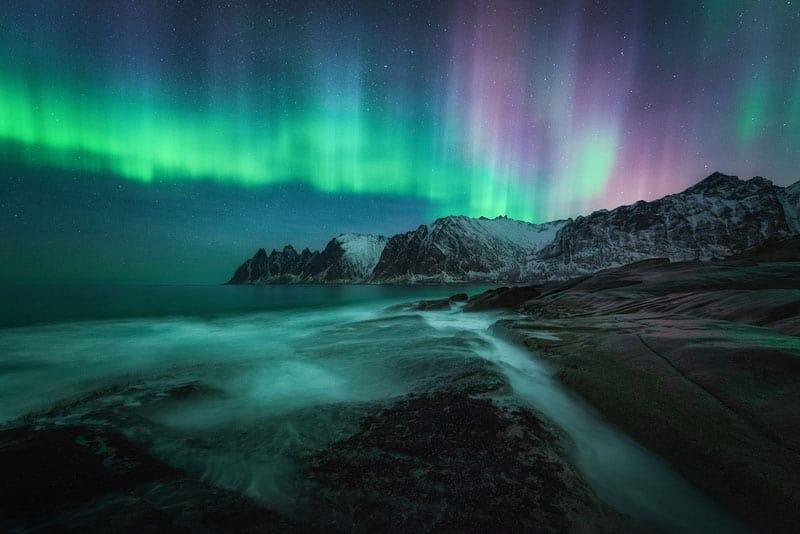 Auroras Boreales en Senja